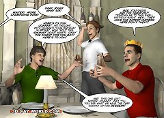 SEE THE LARGEST COLLECTION OF 3D GAY XXX COMICS ONLY AT 3DGAYWORLD.COM